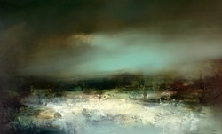 Requiem by Neil Nelson - Original Painting on Box Canvas sized 64x39 inches. Available from Whitewall Galleries
